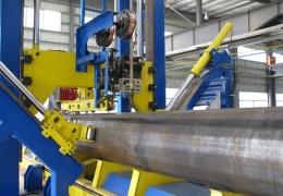 大口径灯杆自动焊接机组